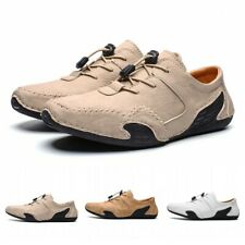 39-46 Mens Casual Outdoor Driving Moccasins Flats Loafers Boat Shoes Non-slip L