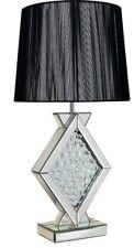 Rhombus Angolare Lampada da tavolo decorato con cristalli di vetro da Pharmore
