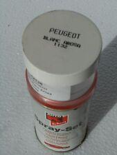 BOMBE PEINTURE BLANC AROSA 1132 PEUGEOT