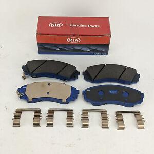 Kia Sedona i800 icargo Hyundai Brake Pads Disc Kit Front Genuine 581014DE00