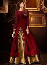 Indian Pakistani Wedding Designer 861 Hot TefetaSilk Bridal Party Wear for Women