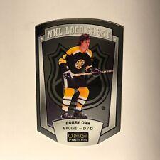 2016-17 O-Pee-Chee Platinum NHL Logo Crest Bobby Orr