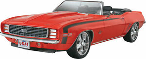 69` Camaro Ss / Rs Convertible, Revell USA Modèle Kit 1:25, 85-4929, Neuf
