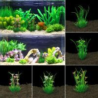 Simulation Fake Water Plants Plastic Grass For Fish Tank Aquarium Ornament Decor