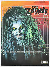 Rob Zombie Hellbilly Deluxe Authentic Guitar Tab Edition Songbook 1998 OOP