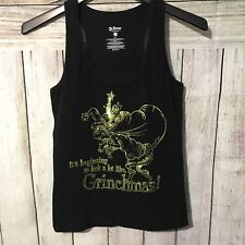Dr. Seuss Jrs Tank Top It's Beginning To Look A Lot Like Grinchmas