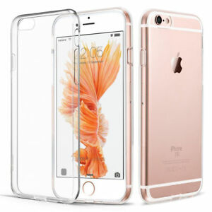 New Apple iPhone 6S/6 TPU Gel Jelly Skin Case Cover Crystal Clear