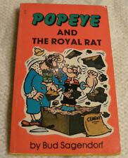 POPEYE AND THE ROYAL RAT by Bud Sagendorf, PB, 1967