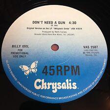 "Billy Idol: Don't Need A Gun 12"""