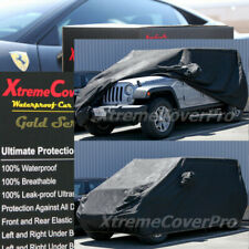 1995 1996 1997 1998 1999 2000 2001 2002 JEEP WRANGLER WATERPROOF CAR COVER GREY