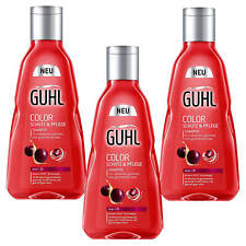 3x 8.5oz Guhl Color Protection & Care Shampoo Acia Oil Hair Care Colored Hair