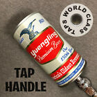 SWEET vintage YUENGLING 150th YEAR CAN beer TAP HANDLE marker steel draft LAGER