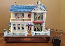 Enesco Victorian Vignette Musical House- RARE