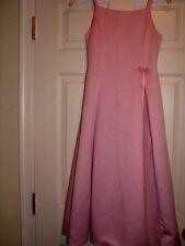 Formal girls long dress Lavender size 12 pageant dinner dance fancy purple  EUC