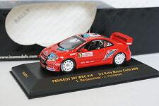 Ixo 1/43 - Peugeot 307 WRC Rallye Montar Carlo 2006 Nº16
