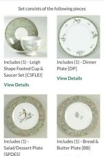 Excellent 5 Piece Place Setting Humming Birds byWedgwood China Plates Rimmed