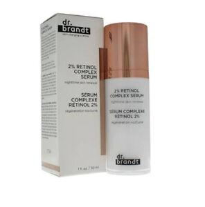 dr. brandt 2% retinol complex serum nighttime skin renewal 1 FL. OZ/30ml BNIB