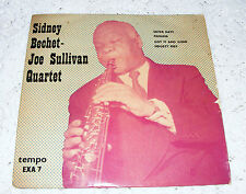 Sidney Bechet  Joe Sullivan Quartet EP Sister Kate/ Panama/Got It & Gone/Fidgety