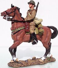 King & Country Fields Of Battle Fob014 French Cavalry Trooper Mib