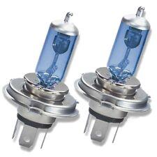 2 H4 472 brillante clásico Cool Azul Blanco mirada Xenon Delantero Faro bombillas halógenas