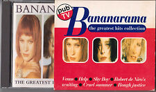 BANANARAMA THE GREATEST HITS COLLECTION FRANCE EDITION CD SLIPCASE LIMITED ED 1s
