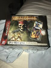 Upper Deck Pirates Of The Caribbean Dead Man's Chest Booster Pack Box Disney