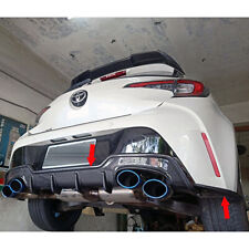 Carbon For TOYOTA Corolla Auris Hatchback TS Rear Bumper Diffuser+Rear Splitter