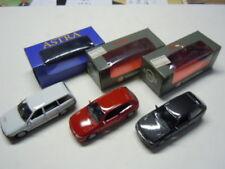Drei rare Opel / Vauxhall Astra F Vorserienmodelle von Gama in 1:43  neu