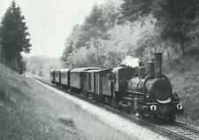 """""""Alte Foto-AK""""- Dampflokomotive 17c Nr. 400 mit P 6724 zw. Premstätten & Liebach"""