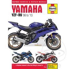 Yamaha YZF-R6 600 2008 Haynes Manual de reparación de servicio 5544