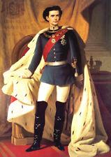 König Ludwig II. Faksimile nach Original um 1864 von Piloty 10