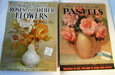Vintage Walter T. Foster Instructional Painting Books