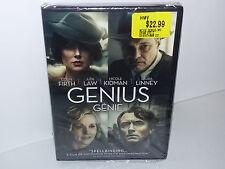 Genius (DVD, 2016, Firth, Law, Kidman, Canadian Region 1, Widescreen) NEW
