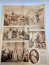 21 February 1932 Rotogravure Boston Herald Incomplete Pictorial News Section