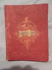 BEASTS AND BIRDS, American Tract Society, Antique Hard Cover, Circa 1870