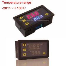 DC 12V Thermometer digital LED Thermostat Temperatur Anzeige Temperaturanzeige