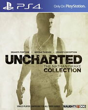 New Sony PS4 Games Uncharted The Nathan Drake Collection HK Version Chi/Engl Sub