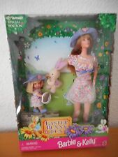 BARBIE Collector Easter BUNNY FUN BARBIE & Kelly NRFB OVP