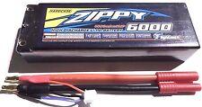 Zippy 6000mAh 2s 7.4v 50c 60c Hardcase LiPo - Traxxas HPI Deans 1/8 Buggy Truggy