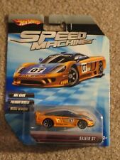 Hot Wheels Speed Machines Saleen S7 Orange MOC 2009 See My Store