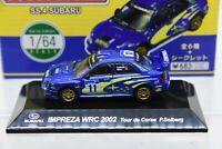 SUBARU IMPREZA WRC 2002 Tour de Corse P.Solberg 1:64 Scale CM's Rally Car SS.4