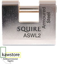 Squire ASWL; Armoured Block Lock; 80mm; Security Rating 7