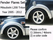 """5"""" Mitsubishi L200 Triton 2005 - 2012 ML MN FENDER FLARES FLARE WHEEL ARCH [A]"""