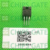 4PCS 2SA1869 Encapsulation:TO-220F,TRANSISTOR (POWER AMPLIFIER APPLICATIONS)
