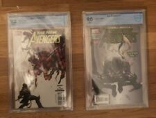 Marvel New Avengers 11&27 CBCS Graded Comics, First Appearance Hawkeye as Ronin