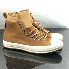 Converse Chuck Taylor All Star Boot High Nubuck Brown Waterproof 157461C Sz  13 d947f3bed