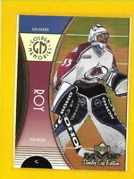 34725 PATRICK ROY 1999/00 MVP GOLDEN MEMORIES AVALANCHE CARD #GM2 🏒