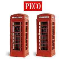 Peco LK-760 2 Telephone Kiosks O Gauge Kit