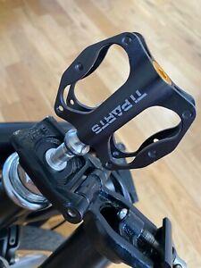 LH Quick Release Pedal Holder Stem Plug Adapter For Brompton - Aluminium 5.7g