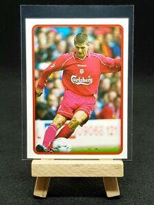 2000/2001 Merlin English Premier League - Steven Gerrard RARE - Liverpool #205